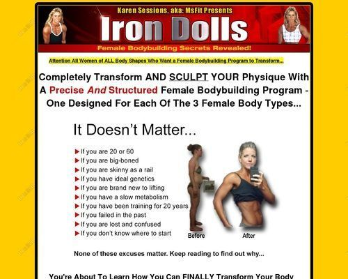 Female Bodybuilding Program to Transform Your Body – Health and Fitness amazin…
