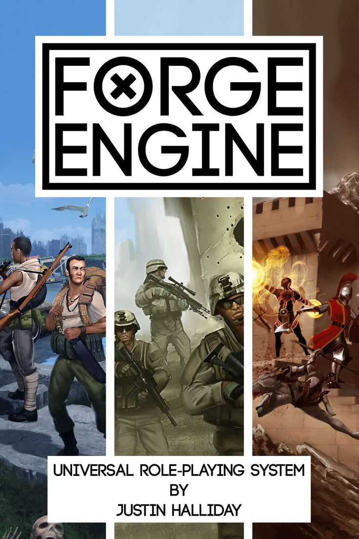Forge Engine - Universal Role-Playing System - Hero Forge Games | Forge Engine | DriveThruRPG.com