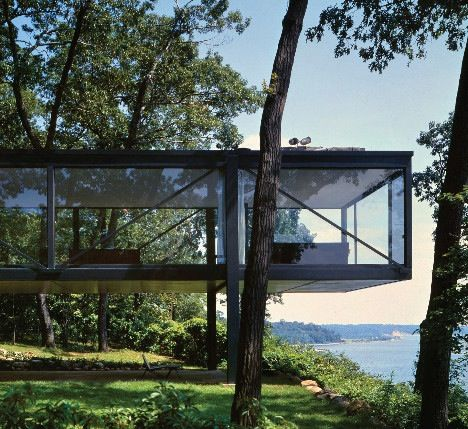 Visions of the Future // Philip Johnson | LEONHARDT HOUSE | 1956