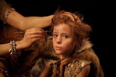 Cro-Magnon Child Reconstruction by Elisabeth Daynès