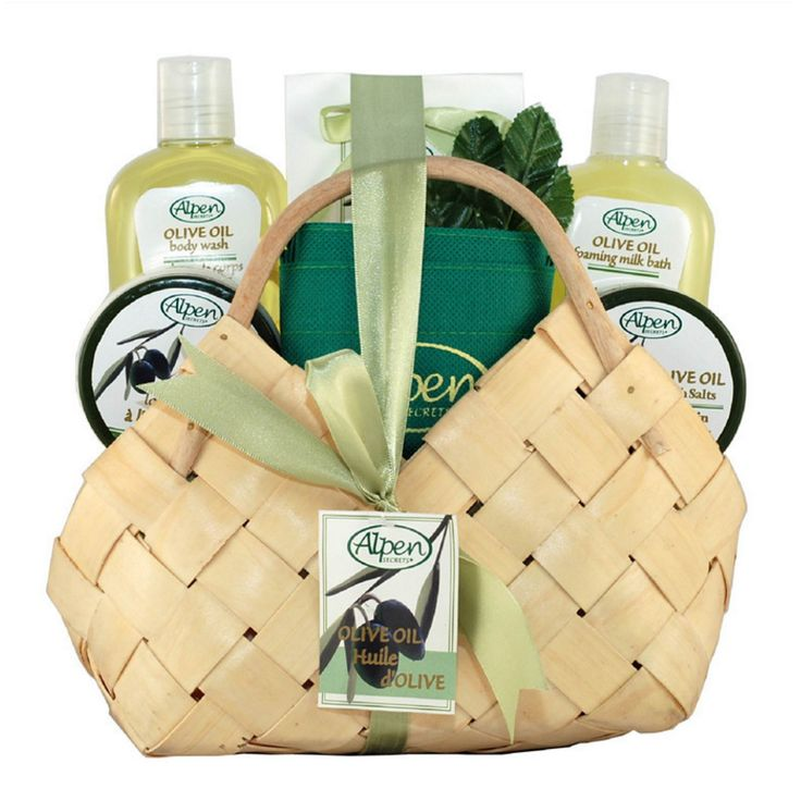 Wood Chips Cosmetics Packing Gift Basket