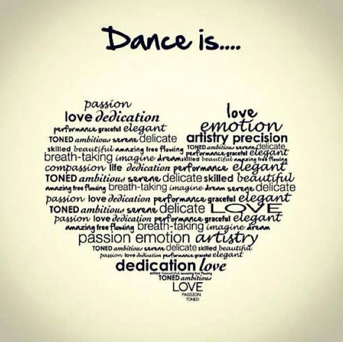 Dance quote. #dancequote #dance #dancer how incredible would this be on a canvas for Maddy like what
