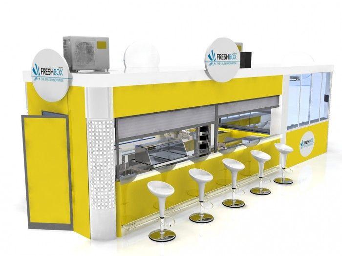 Food Kiosk Relax 7 /Kiosk Food/Outdoor Kiosk/Indoor Kiosk/Mobil Kiosk $15999