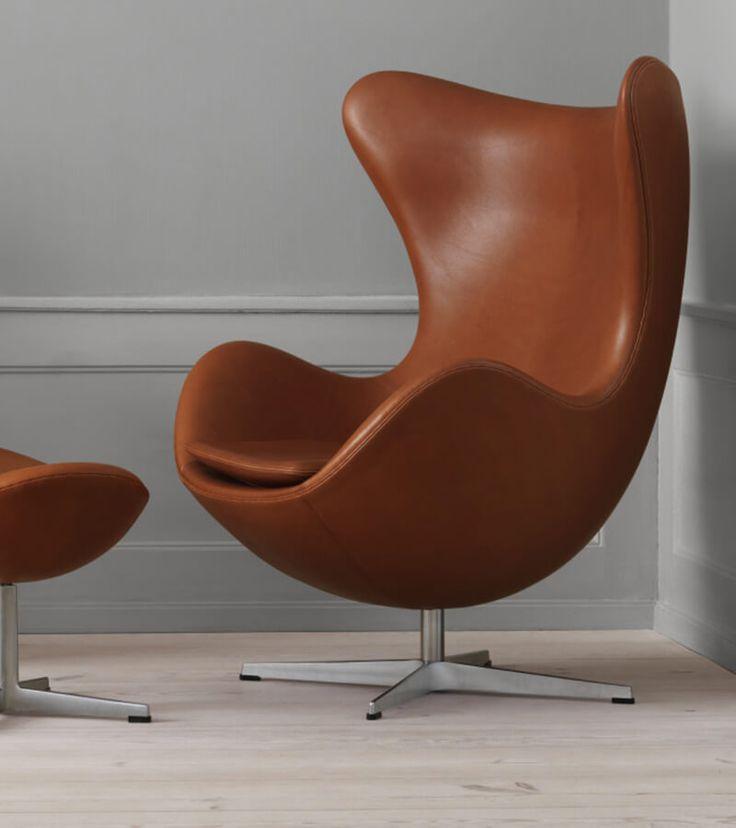 Et skulpturelt design, der giver en øjeblikkelig følelse af storhed, findes i den evige klassiker, Ægget™, af Arne Jacobsen.