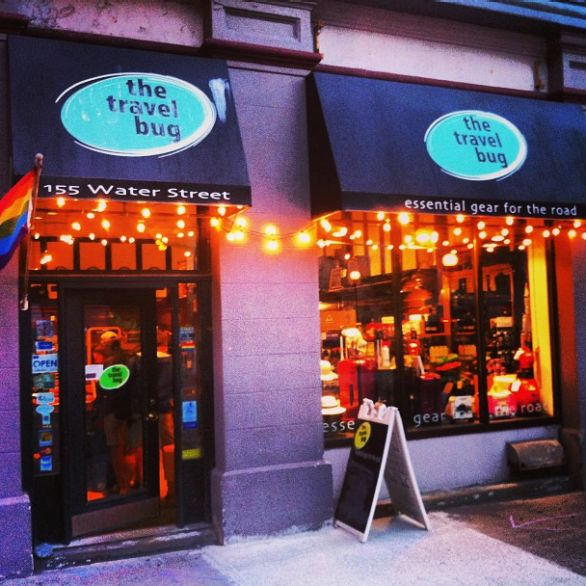 This might just bethe world's best travel store, in St. John's, Newfoundland.