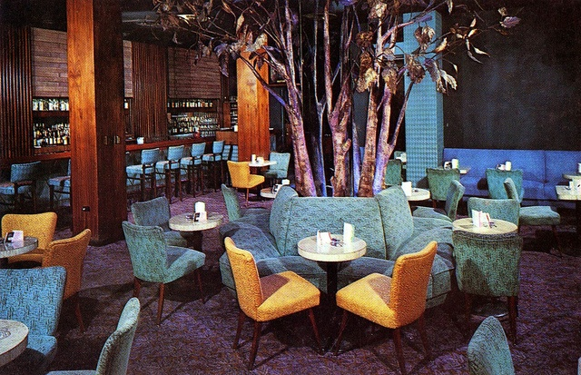 Manger Hotel - Cleveland, Ohio -- The Purple Tree Lounge in Cleveland, it had much less purple and tree than its compatriot in Rochester.