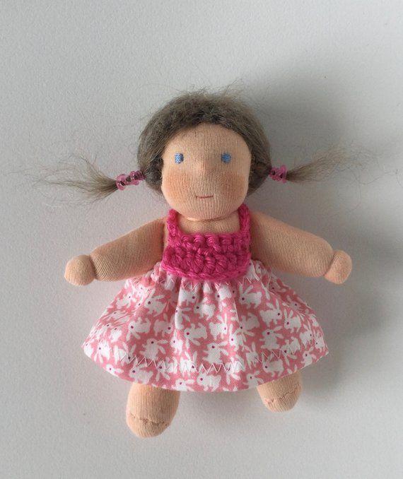 Kleidchen Fur 5 Zoll Puppe Mit Bildern Puppen Wolle Kaufen Kleidchen