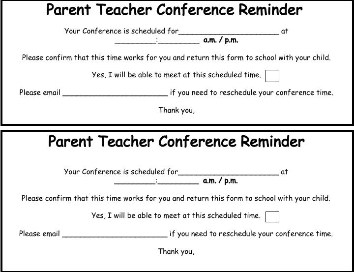 Best  Parent Teacher Conferences Ideas On   Teacher