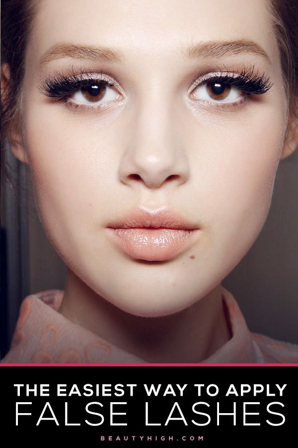6 Tips That Will Make Applying False Lashes A Whole Lot