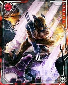 In the Weapon X program, Wolverine's bones and claws were fused with the indestructible Adamantium metal.