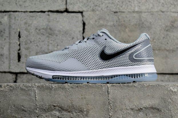 cbe3a42d79e6c 2018 Original Nike Zoom All Out Low 2 Wolf Grey White blanc Black Noir  AJ0036-005 Youth Big Boys Shoes
