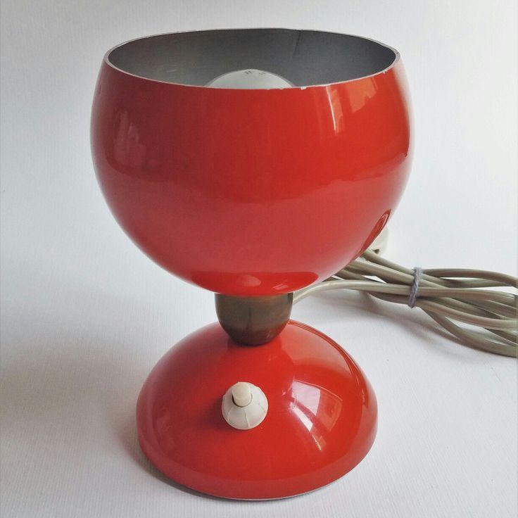 Piccola lampada abat jour anni 60