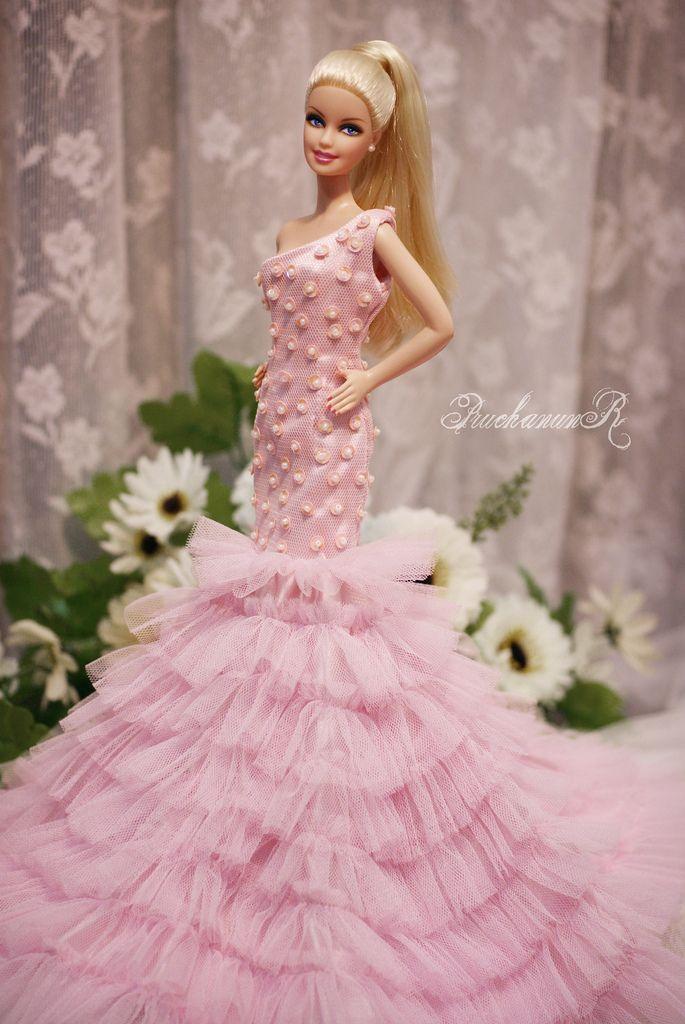 Gypsy Barbie Pink Prom Dress – fashion dresses