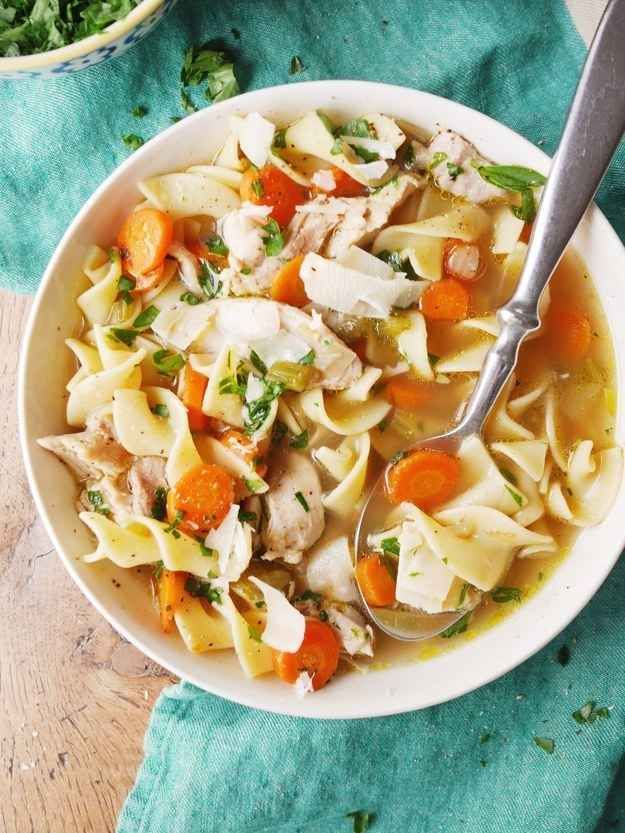 Under the weather? Make the perfect chicken soup FROM SCRATCH.