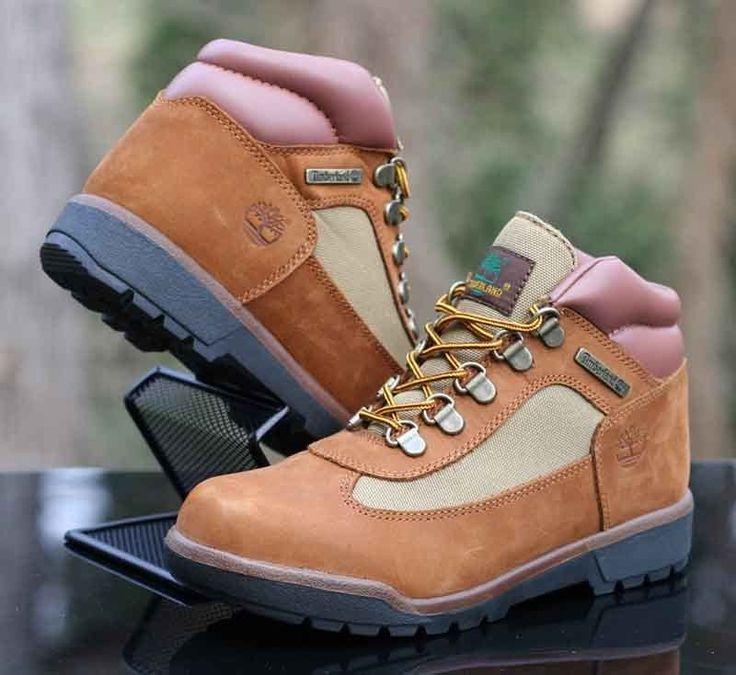 Timberland Field Boot Sundance Nubuck Junior Kids Boots 40929 Size 4 #Timberland #Boots