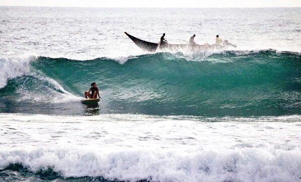 Me...srilanka surftrip