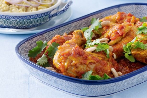 Invite some friends around to share this aromatic chicken meal.