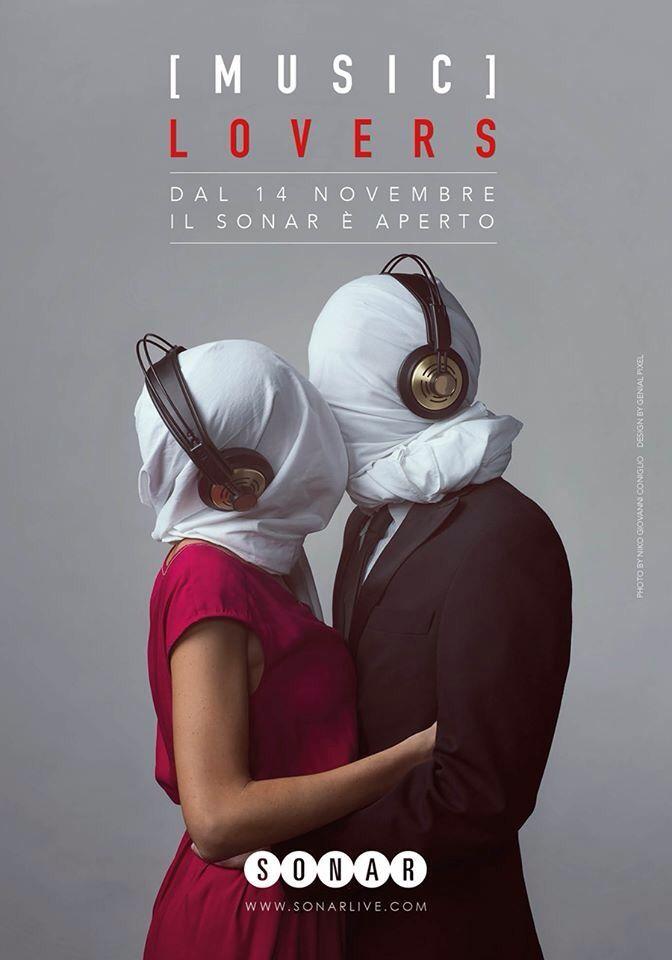Genial Pixel & Niko Giovanni Coniglio photographer x Sonar live. Campagna promozionale per l'apertura stagionale 2015/2016  #musiclovers #thelovers #gliamanti #sonarvive  #proud