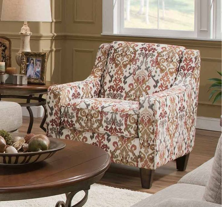 Franklin Furniture   Carmel Accent Chair   2174 WARM SANDSTONE