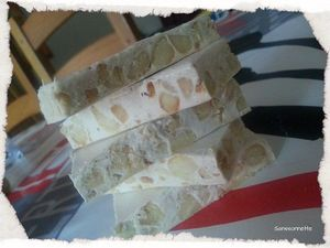 Nougat in thermomix.