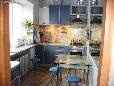 Дизайн интерьера маленькой кухни: как увеличить пространство