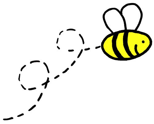 Line Art Bee : About bee drawing honey bees and sweet