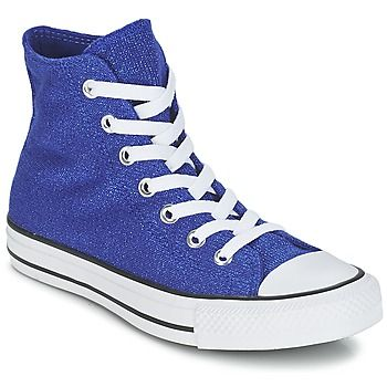stijlvolle Converse chuck taylor all star knit dames sneakers (Blauw)