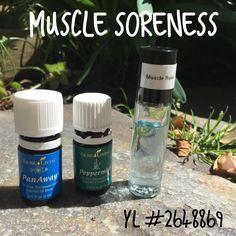 This is probably the oil mix I use the most- almost 2-3 times a day. I've been dealing with some some serious muscle soreness for months now with some new Crossfit programming I'm doing. I mixed this roller up and now I take it with me everywhere. Mix 7 drops peppermint and 7 drops Panaway in a roller with Fractionated Coconut Oil and you'll have a refreshing and soothing roller. It feels uplifting and energizing on your muscles.