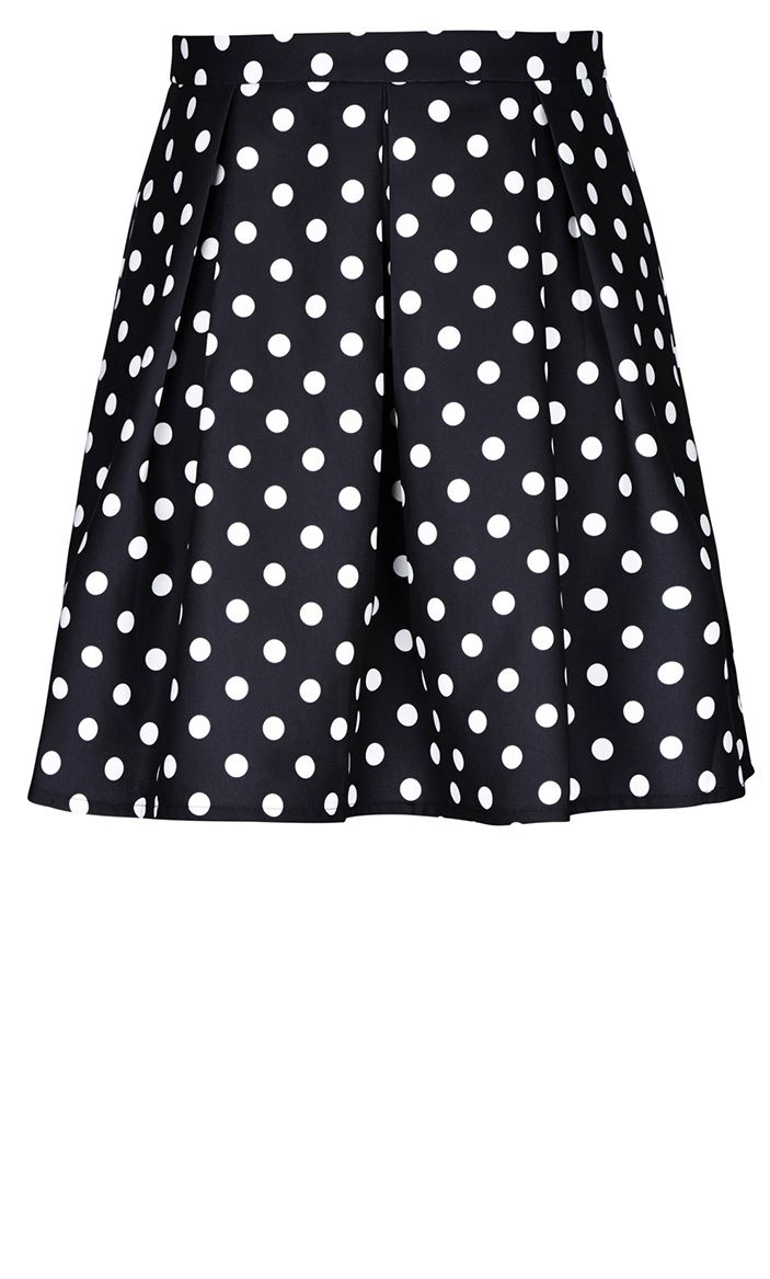City Chic - CANDY SKIRT - Women's Plus Size Fashion