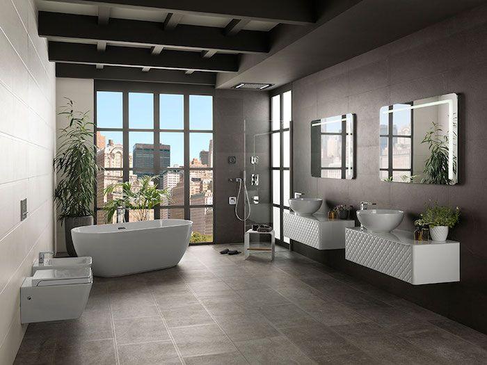 566 best badezimmer ideen fliesen leuchten dekoration images on pinterest. Black Bedroom Furniture Sets. Home Design Ideas
