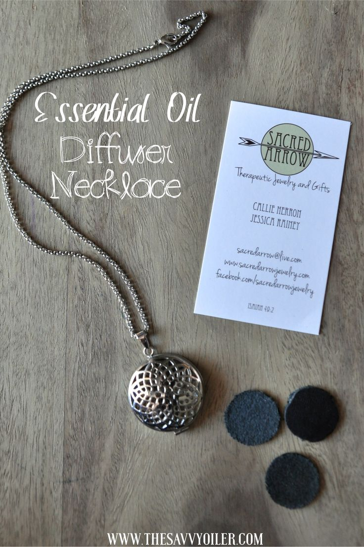 Young Living Essential Oils: Diffuser necklace | WWW.THESAVVYOILER.COM
