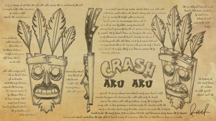 Echa un vistazo a mi proyecto @Behance: \u201cAku Aku. Crash Bandicoot. Raul®\u201d https://www.behance.net/gallery/48049293/Aku-Aku-Crash-Bandicoot-Raul