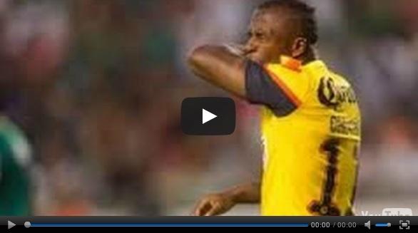 Vídeo del resumen y goles entre América vs Monterrey partido que corresponde al juego de ida de la Semifinal de la Liga MX Clausura 2013.  Marcador Final: América 2-2 Monterrey