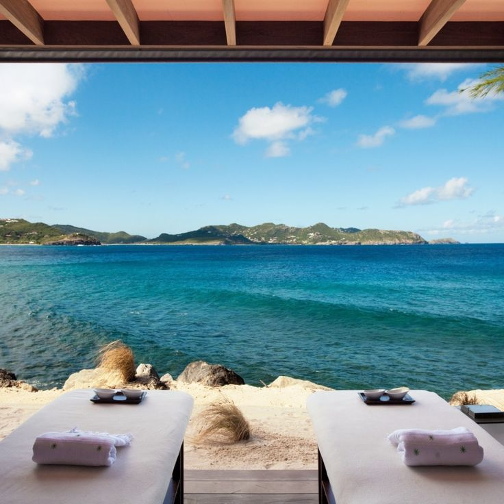 Bask under the tropical sun in luxurious fashion with Hotel Christopher Saint Barth—St Barts. #Jetsetter