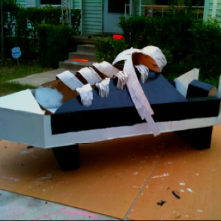 #cardboard #boat