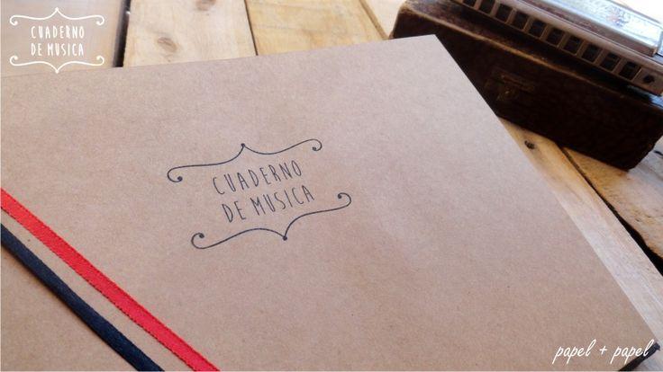 Cuaderno Pentagramado | Musica De Lujo Handmade Papel+papel - $ 150,00 en MercadoLibre