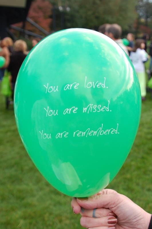 on your childs angelversary a balloon release is a nice way of remembering them, we will be doing this with my fam along with cake... because even tho his death was sad, his life was beautiful and that is what we celebrate