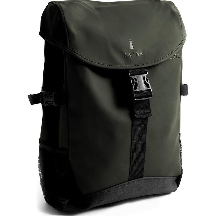 RAINS Waterproof Runner Backpack | Green