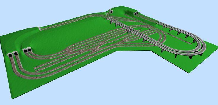 Marklin HO C-track 320x270