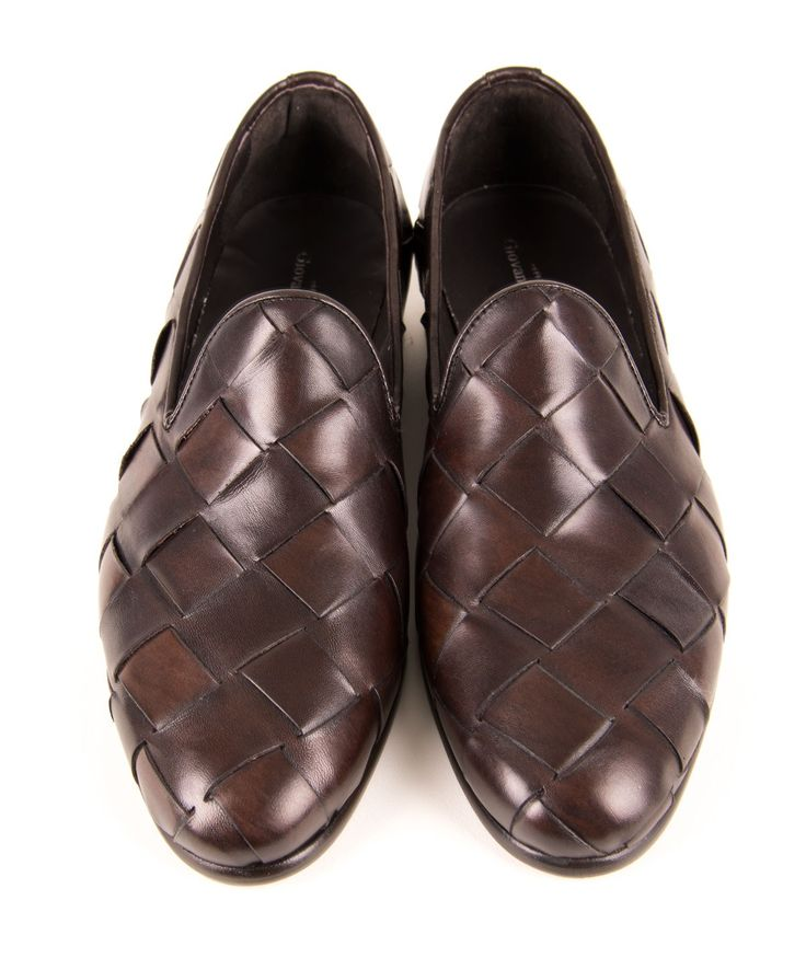 Giovanni Marquez Italian Men's Shoes - Cross Woven - TMoro