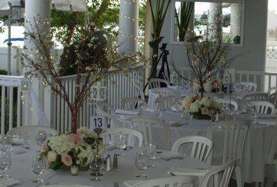 diy tree branch wedding centerpieces