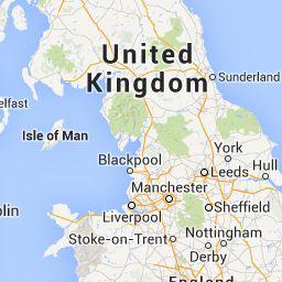 Mapa turístico de Gran Bretaña : Plano de Gran Bretaña