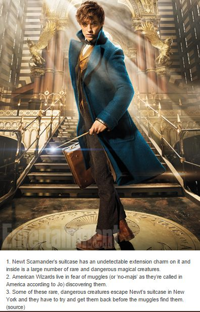 Things we know about the Fantastic Beasts plot so far - source: http://www.ew.com/article/2015/11/04/fantastic-beasts