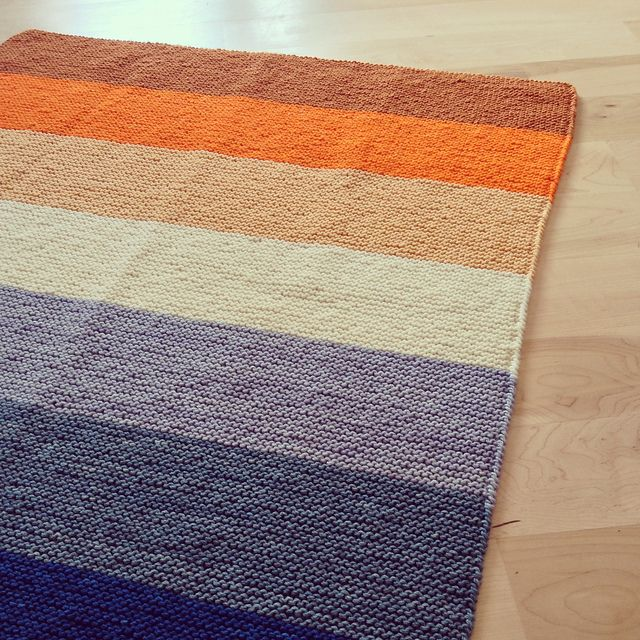 Knit And Purl Stitch Blanket : 17 Best images about Personal Work: Hand Knits & Weavings on Pinterest ...