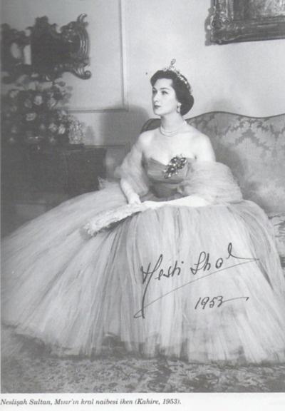 Neslişah Sultan, Ottoman Princess. Her maternal grandfather is the last ottoman sultan, Sultan Vahdettin and her paternal grandfather is the last ottoman caliph, Abdülmecit II.