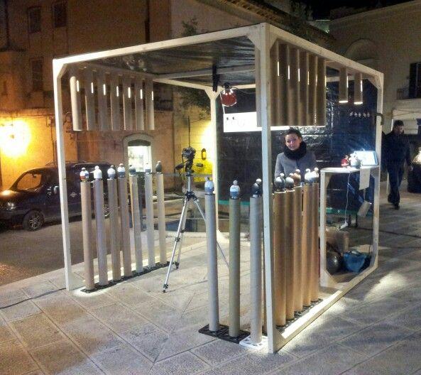 La gabbia dei WOOOD.  www.schiumapostdesign.com / woood