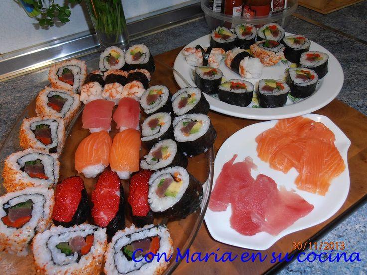 Con María en su cocina: Sushi hecho en casa paso a paso