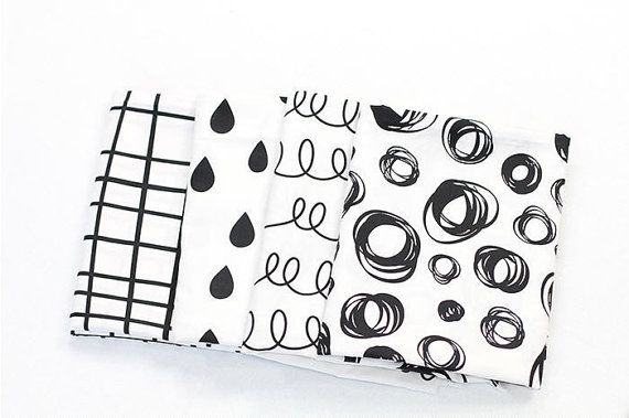 Hey, I found this really awesome Etsy listing at https://www.etsy.com/listing/268852515/geometric-cotton-fabric-black-and-white