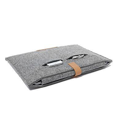 "Wool+Felt+Notebook+Sleeve+for+MacBook+Air+11.6""+13.3"",MacBook+Pro+with+Retina+13.3""/15.4""+–+EUR+€+19.59"