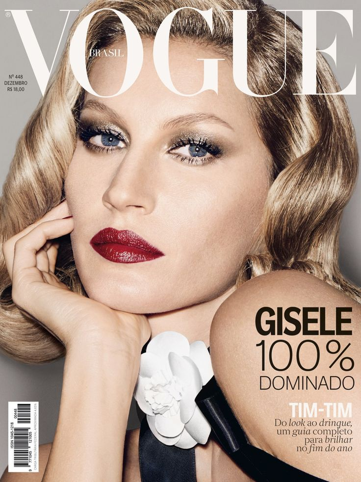 Gisele Bundchen by François Nars Vogue Brazil December 2015